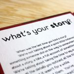 What's Your Story? - Inside Cover