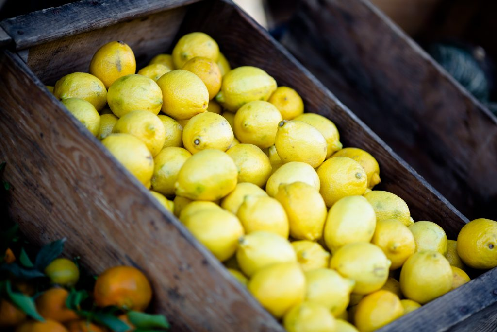Box of lemons