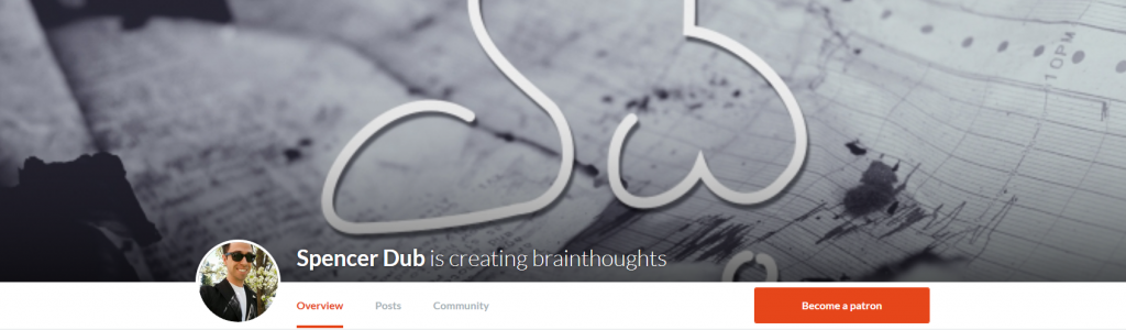 Brainthoughts campaign on Patreon