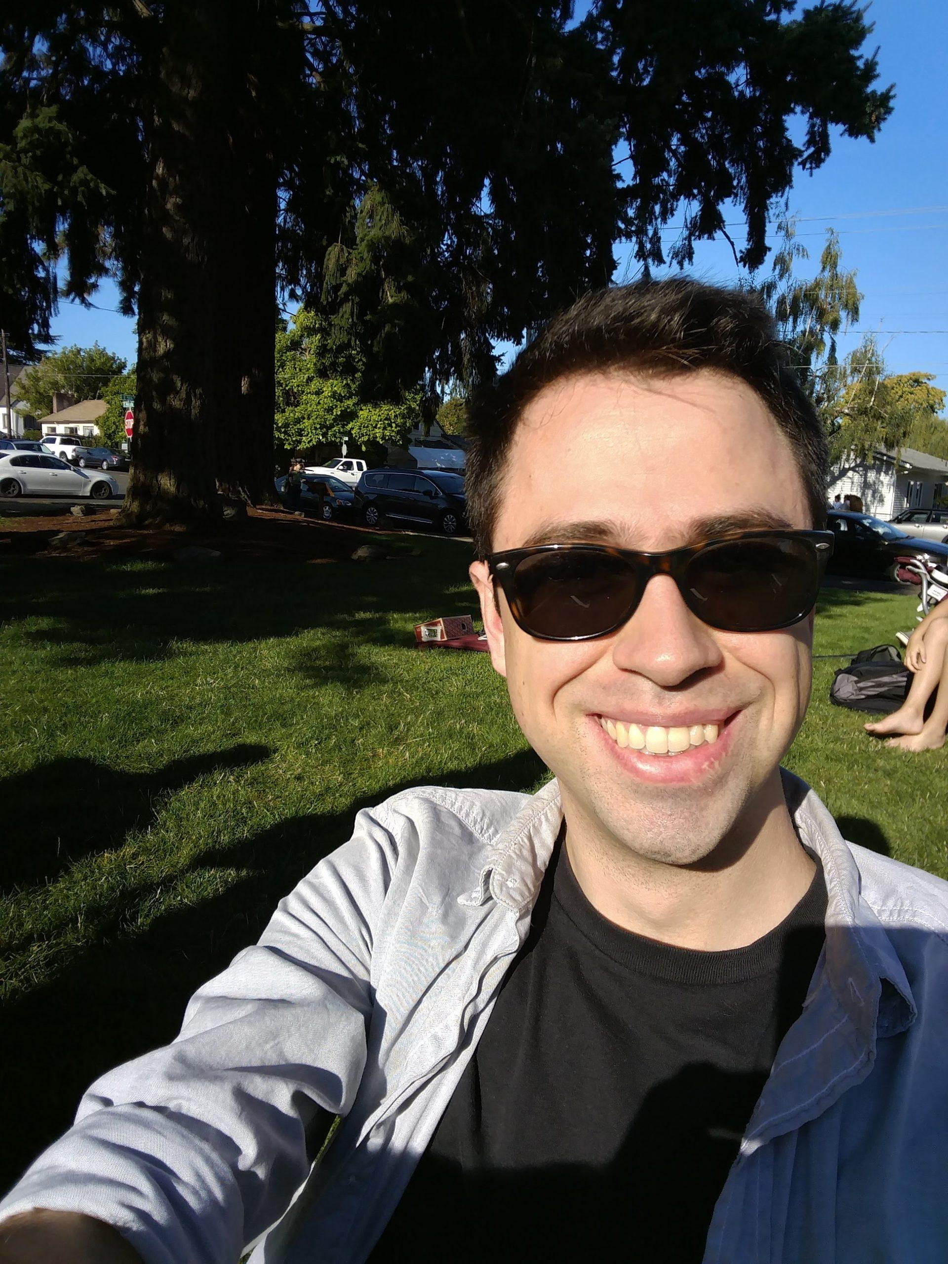 Selfie of Spencer